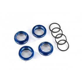 Traxxas Maxx Blue Aluminum Spring Retainer